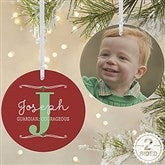 2-Sided My Name Means Personalized Photo Ornament-Large - 16297-2L