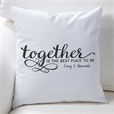 Together... Personalized Throw Pillow - 16304