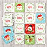 Christmas Characters Personalized Memory Game - 16311