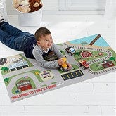 Transportation Village Personalized Play Mat