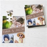 Family Photo Collage Personalized Puzzle - 16319-25