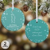 2-Sided Bridal Brigade Personalized Wedding Ornament - 16332-2