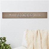 Heart of Our Home Personalized Wooden Sign - 16341