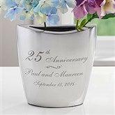 Everlasting Love Personalized Anniversary Vase - 16342