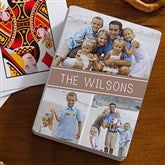 3 Photo Collage Personalized Photo Playing Cards - 16356