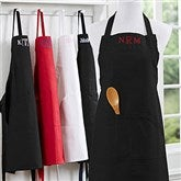 Embroidered Kitchen Apron-Monogram - 16384-M