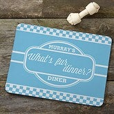 Pet Pun Personalized Meal Mat - 16402