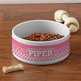 Pet Pun Personalized Pet Bowl - Large - 16403-L