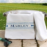 Doggie Delights Personalized Pet Towel - 16408