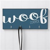 Woof & Meow Personalized Leash Hanger - 16418