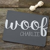 Woof & Meow Personalized Pet Food Mat - 16419