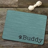 Pet Initials Personalized Meal Mat - 16423