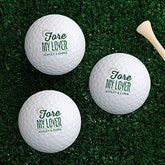 Fore My Sweetheart Personalized Golf Ball Set - Non Branded - 16427-B