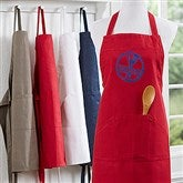 Family Brand Embroidered Apron - 16431