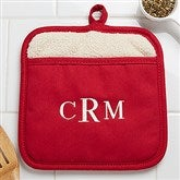 Embroidered Pot Mitt- Monogram - 16436-M