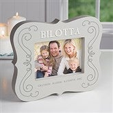 Joy Of Family Personalized 5x7 Picture Frame Block