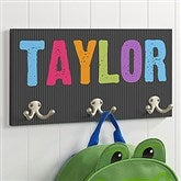 All Mine! Personalized Coat Hanger-3 Hooks - 16451