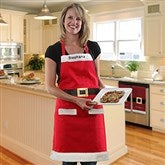 Embroidered Santa Ladies Apron - 16470