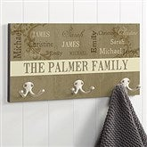 Our Loving Family Personalized Coat Hanger - 16473