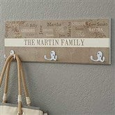 Our Loving Family Personalized Coat Rack - 16473
