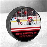 My Photo Personalized Official Hockey Puck - 16484