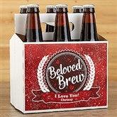 Beloved Brew Personalized Beer Bottle Carrier - 16507-C