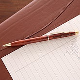 Rosewood Engraved Pen - 1652-R