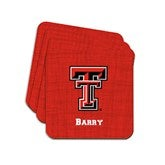 Collegiate Pride Personalized Tailgate Collection - Coasters - 16520D-C