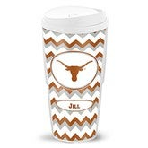 Chevron Collegiate Pride Personalized Tailgate Collection - Stadium Tumbler - 16522D-ST