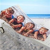 Photo Collage Personalized Beach Towel - 1 Photo - 16537-1