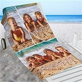 Photo Collage Personalized Beach Towel - 16537-3