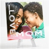 Loving Her Personalized Tabletop Canvas Print- 8
