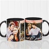 You & I Personalized Photo Coffee Mug 11oz.- Black - 16547-B