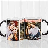 You & I Personalized Photo Coffee Mug 11oz.- Black - 16547-B