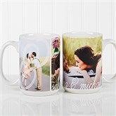 You & I Personalized Photo Coffee Mug 15 oz- White - 16547-L