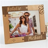 Missing Piece To My Heart Engraved Picture Frame- 8 x 10 - 16577-L