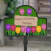 Grandma's Garden Personalized Garden Stake- with Magnet - 16582-S