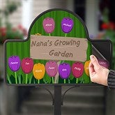 Grandma's Garden Personalized Magnetic Garden Sign - 16582-M