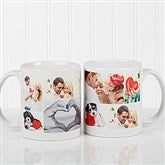 Create A Photo Collage Personalized Coffee Mug 11 oz.- White - 16584-S
