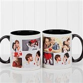 Create A Photo Collage Personalized Coffee Mug 11oz.- Black - 16584-B