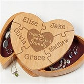 Together We Make A Family Engraved Jewelry Box - 16587