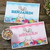 Bunny Love Personalized Laminated Placemat - 16592