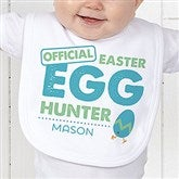 Easter Egg Hunter Easter Personalized Infant Bib - 16601-B