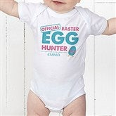 Easter Egg Hunter Personalized Baby Bodysuit - 16601-CBB