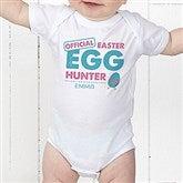 Easter Egg Hunter Personalized Baby Bodysuit - 16601-CBB