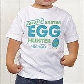 Easter Egg Hunter Personalized Toddler T-Shirt - 16601TT