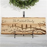 Welcome To Our Nest Personalized Basswood Plank - 16640