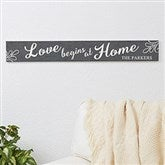 Family Home Quotes Personalized Wooden Sign