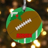 1 Sided Football Personalized Ornament - 16667-P