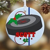 1 Sided Hockey Personalized Ornament-Small - 16669-P